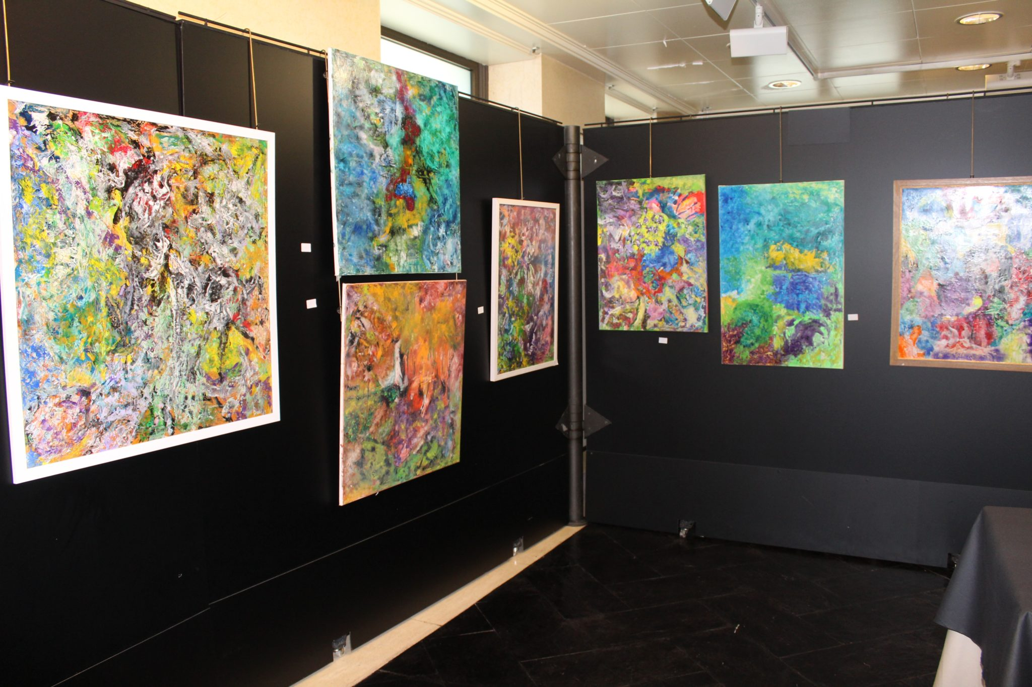 Exposición de pintura del Dr. Javier Beltrán Llera en el Colegio de Médicos.