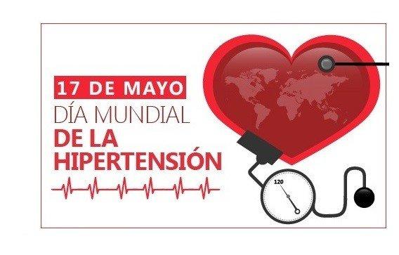 17 de mayo, Día Mundial de la Hipertensión Arterial.