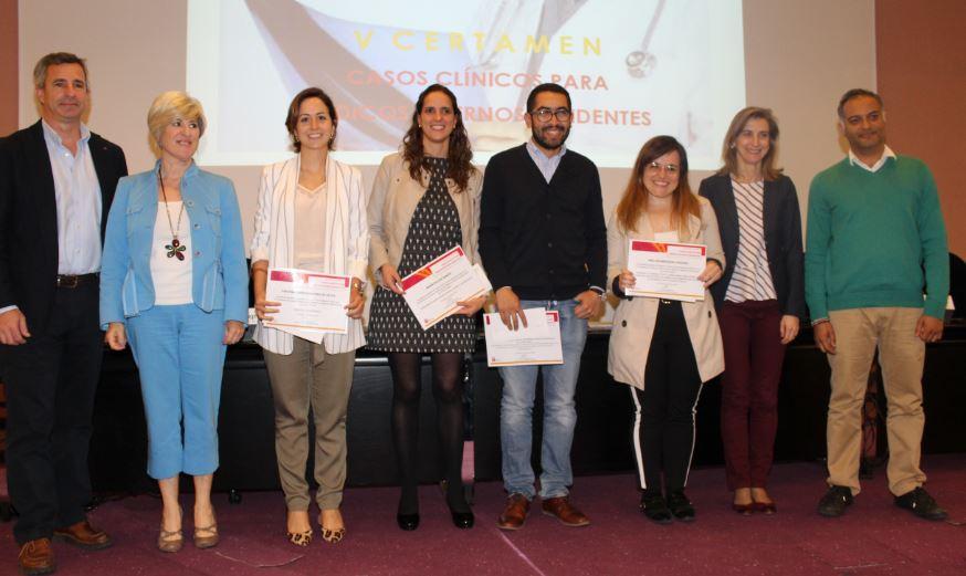 El Colegio de Médicos de Navarra entrega los premios del V Certamen de Casos Clínicos para Médicos Internos Residentes.