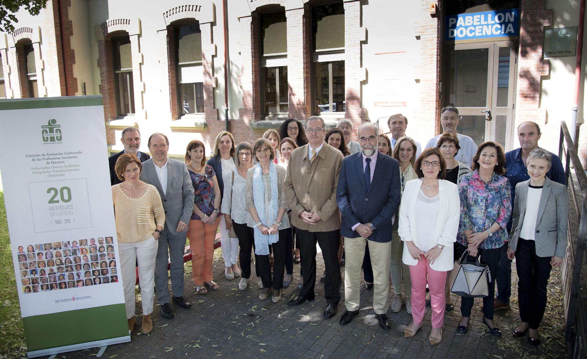 La Comisión de Formación Continuada de las Profesiones Sanitarias de Navarra celebra su 20º aniversario con cerca de 10.000 actividades acreditadas.