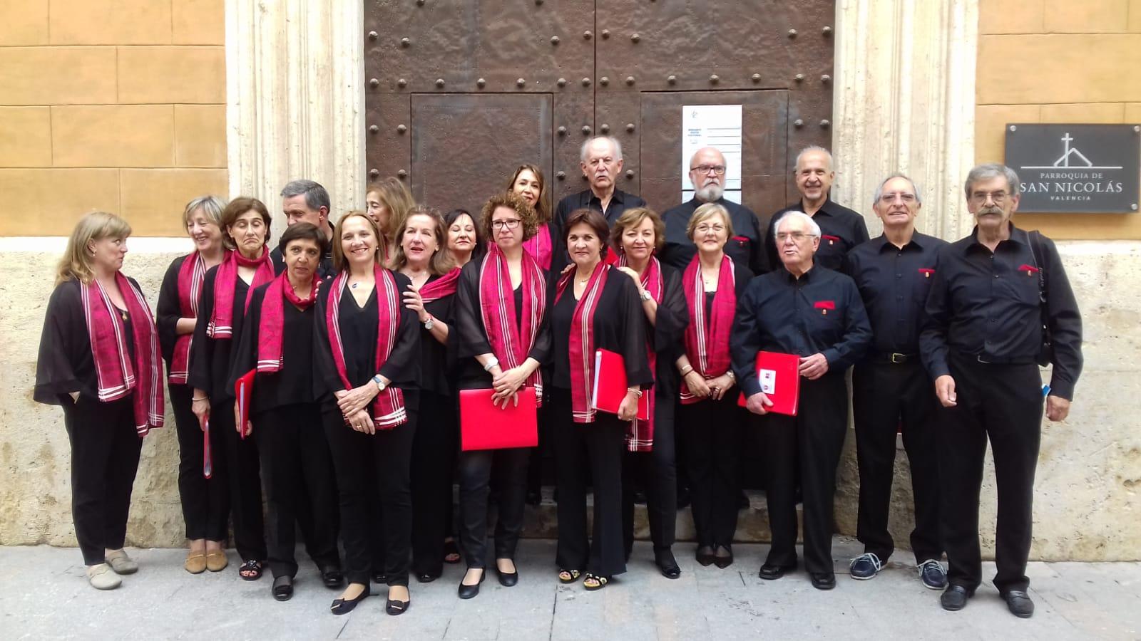 Gran éxito del Coro del Colegio de Médicos de Navarra en el VIII Encuentro de Coros de Colegios de Médicos de España.