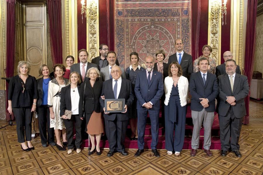 El anestesiólogo Salvador Carrascosa, galardonado con el IX Premio Sánchez Nicolay a las buenas prácticas médicas.