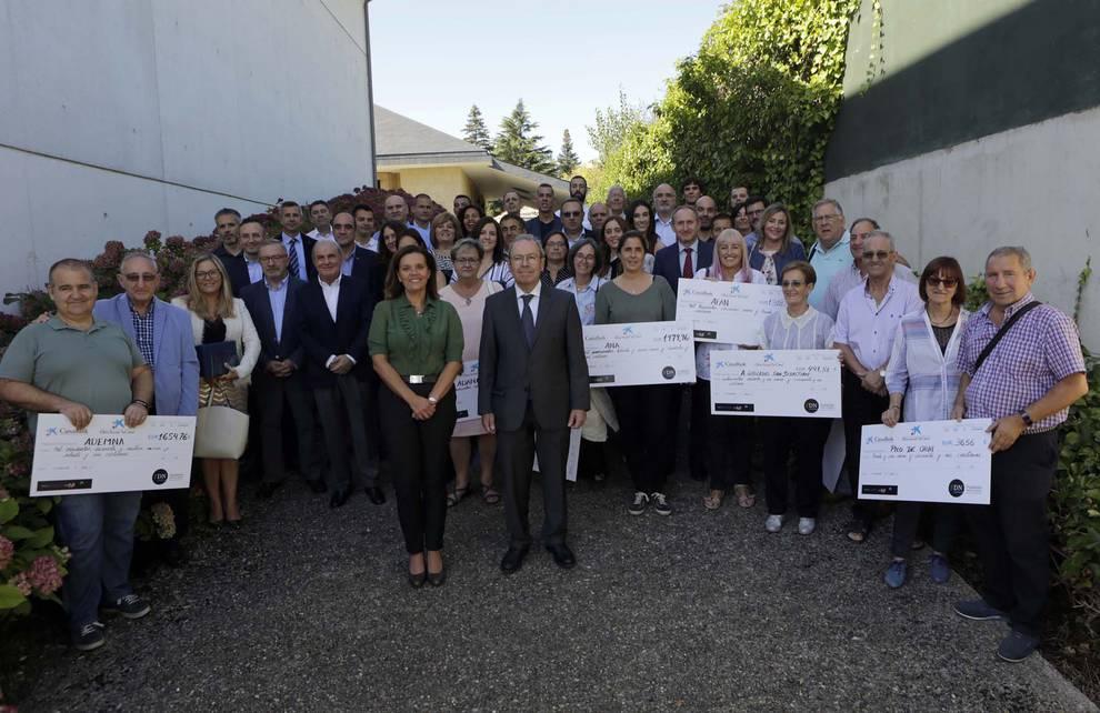 El 'Reto Solidario' suma 1.465.305 kilómetros. El Dr. Tomás Rubio, tesorero del Colegio de Médicos, participó en la clausura con una charla sobre deporte y salud.
