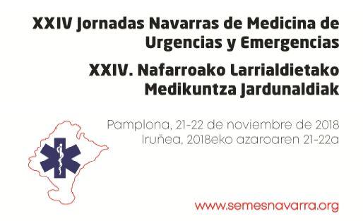 El paciente politraumatizado, a debate en las XXIV Jornadas Navarras de Medicina de Urgencias y Emergencias.
