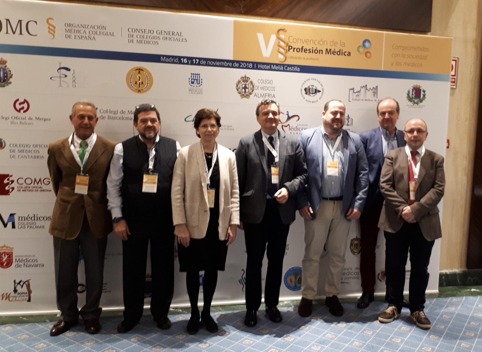 El Colegio de Médicos de Navarra en la VI Convención de la Profesión Médica.