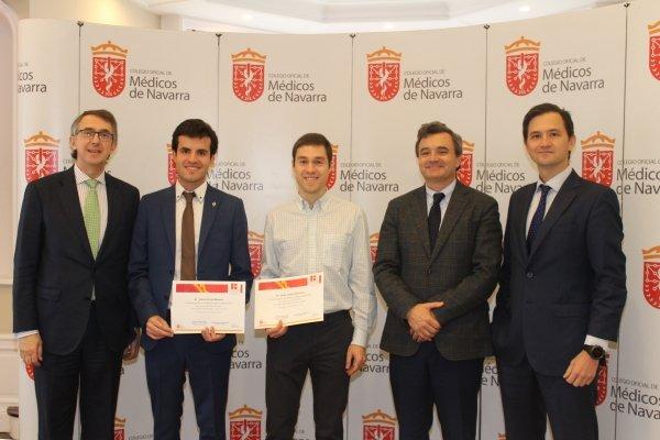 Diego Latasa y Jesús Olivas ganan las XI Becas Dr. Ignacio Landecho de apoyo a la formación MIR.
