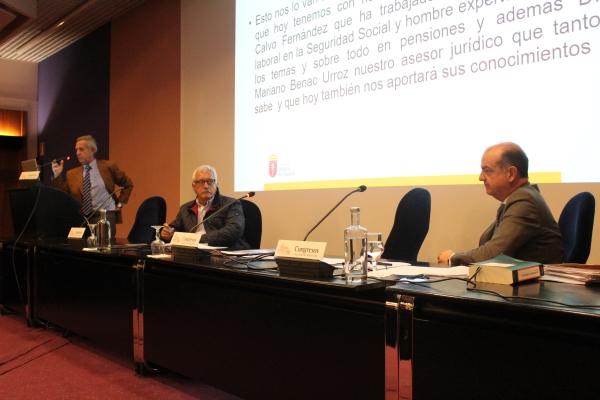 VIDEO: Charla y debate sobre Jubilación y Médicos, en el Colegio de Médicos de Navarra, organizada por la Vocalía de Médicos Jubilados (10/12/2018).