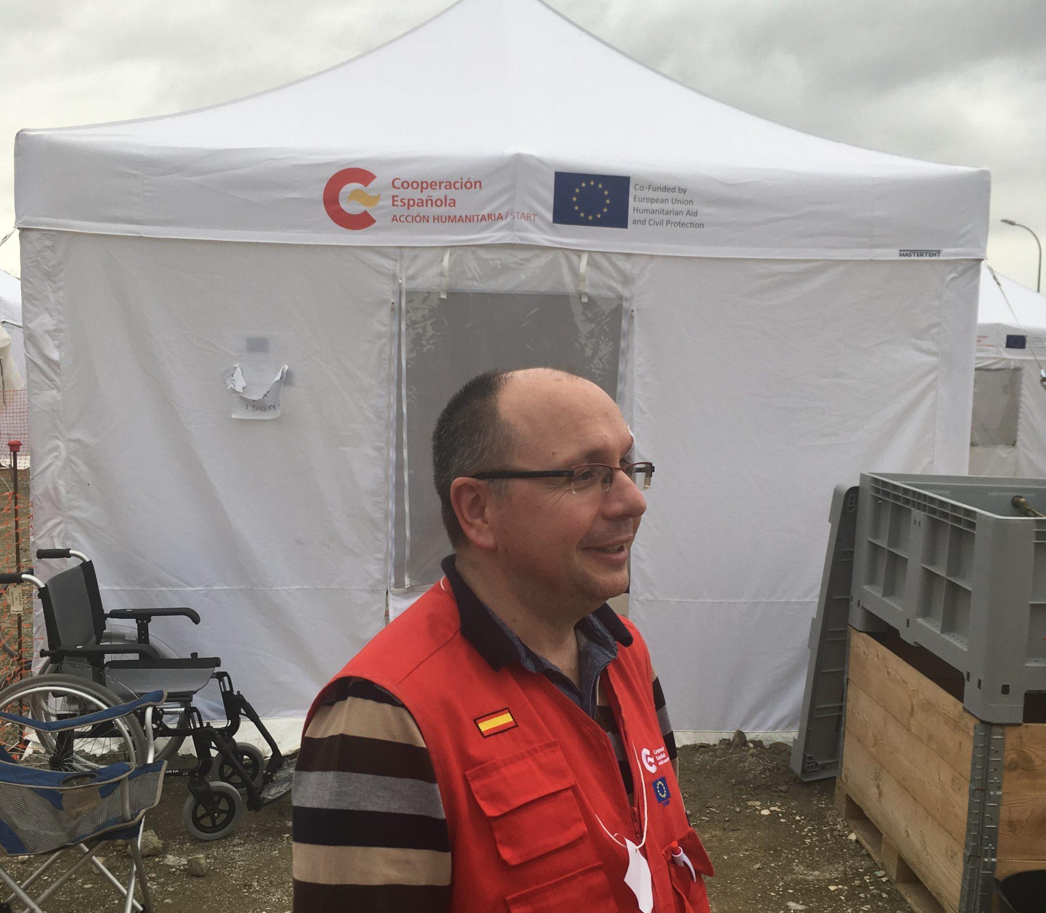 El Dr. Alberto Lafuente, en el equipo de élite español de Ayuda y Respuesta a Emergencias Internacionales.