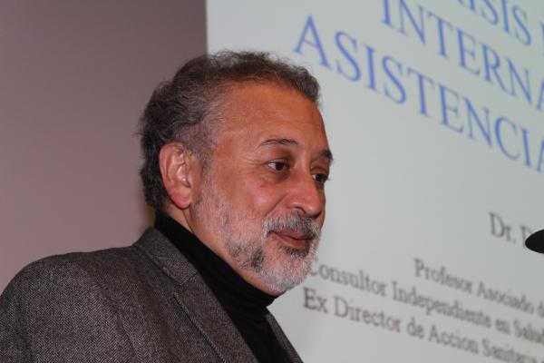 Conferencia de Daniel López-Acuña sobre Desafíos de la Gobernanza Mundial en Salud. Miércoles, 23 de Enero, a las 19 horas, en el Colegio de Médicos.
