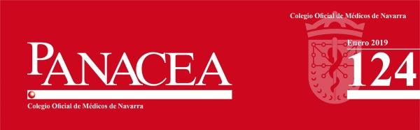 Ya está disponible la revista Panacea 124 (Enero 2019). Editada por el Colegio de Médicos de Navarra.