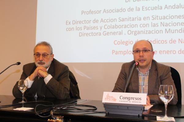 Desafíos de la Gobernanza Mundial en Salud, conferencia de Daniel López-Acuña en el Colegio de Médicos.