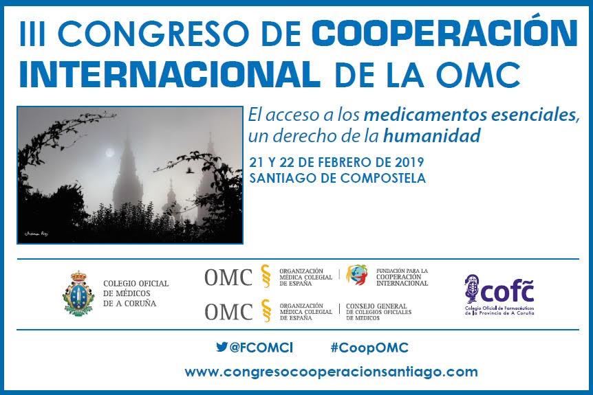 Responsables de Cooperación de Colegios de Médicos y Sociedades Científicas se reúnen en Santiago de Compostela.