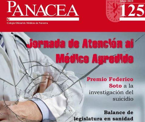 Ya puedes leer y descargar la revista Panacea 125, de abril del 2019.