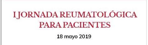 La Sociedad Navarra de Reumatología (SONARE) organiza su primera Jornada para pacientes, el sábado 18 de mayo, en el Colegio.