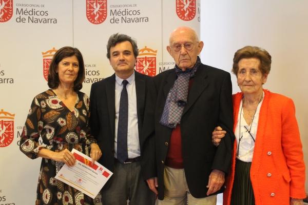 La psicóloga clínica Adriana Goñi, ganadora del premio Federico Soto a la investigación del suicidio en Navarra.