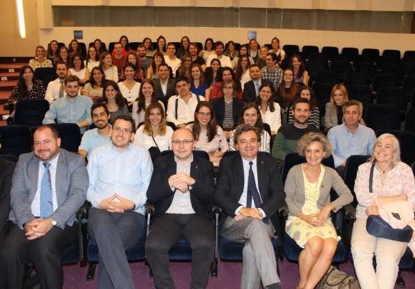 Bienvenida a los nuevos MIR en el Colegio de Médicos de Navarra.