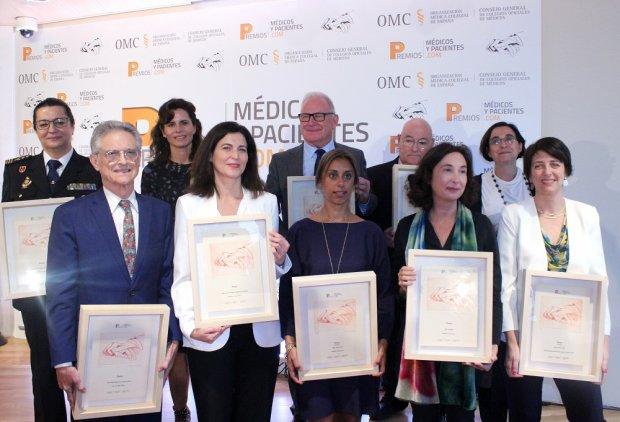 El CGCOM premia la labor de profesionales y organizaciones referentes en el ámbito de la salud