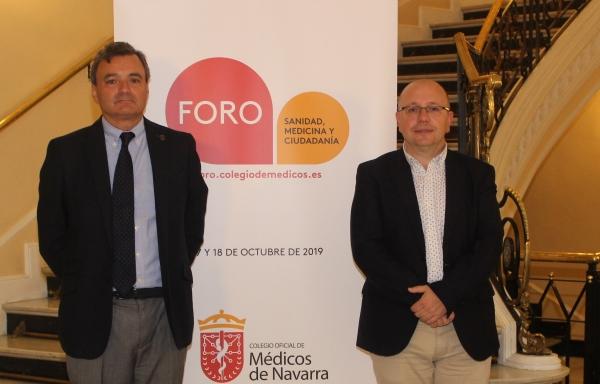 El Colegio de Médicos de Navarra propone 20 claves para el cambio en sanidad.