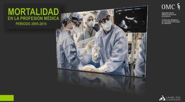 ¿De qué fallecen los médicos en España? El CGCOM presenta el Estudio de Mortalidad de la profesión médica.