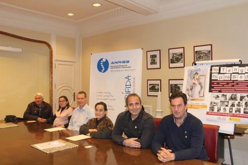 ANPHEB presenta en el Colegio de Médicos las actividades para celebrar el Día Nacional de la Espina Bífida e Hidrocefalia.