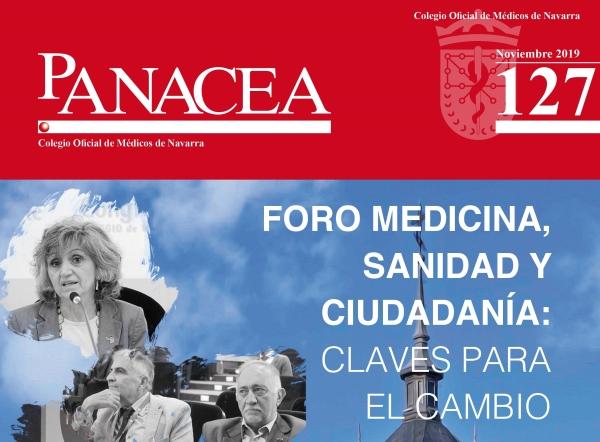 Ya puedes leer y descargar la revista PANACEA 127, de noviembre del 2019.