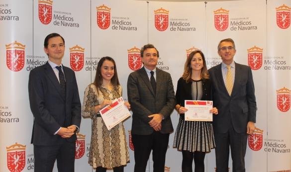 Cristina Gómez y María Fernanda Ramón, ganadoras de las Becas de apoyo a la formación MIR 2019.