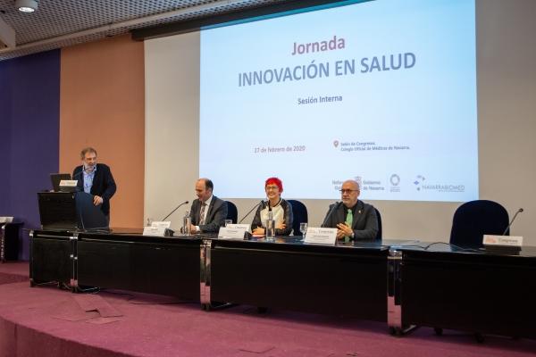La innovación en el sistema público de salud de Navarra, a debate en una jornada entre profesionales directivos.