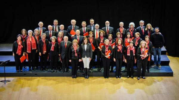 """Lleno en el Concierto Benéfico """"Músicas del Mundo-Médico Cooperante"""" en favor de la Fundación Vicente Ferrer."""