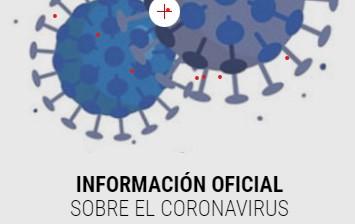 Salud refuerza la estrategia comunicativa sobre el Covid 19 con una web monográfica de información y recomendaciones.