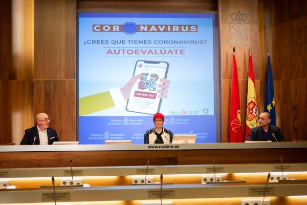 CoronaTest: la aplicación móvil que ayuda a autoevaluar los síntomas del Covid-19 en Navarra.