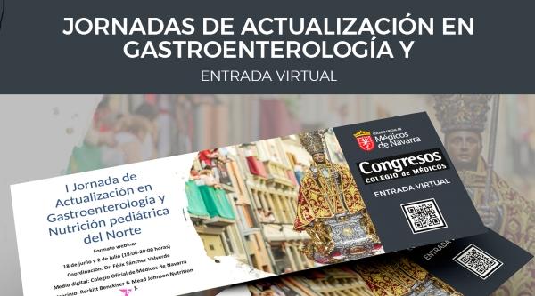 Webinar desde el Colegio de Médicos: Jornada de Actualización en Gastroenterología y Nutrición Pediátrica del Norte.