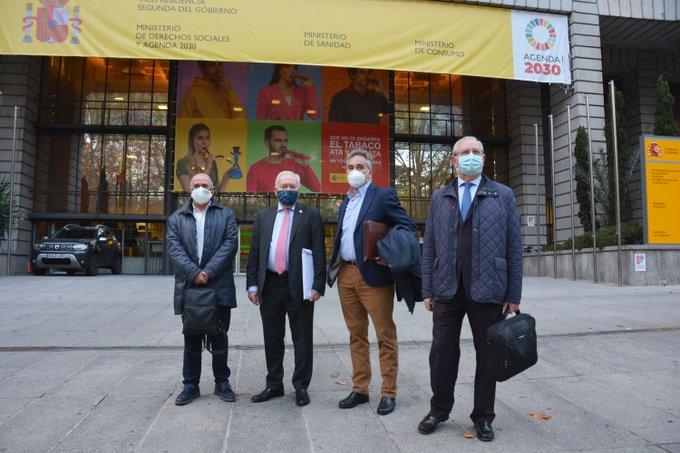 El Foro Profesional reanuda el diálogo con el Ministerio de Sanidad.