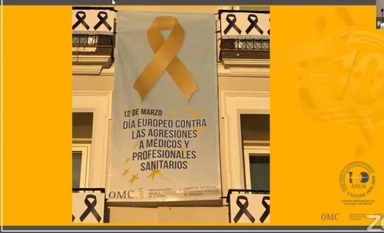 Día Europeo contra las Agresiones a Médicos y Profesionales Sanitarios: El Colegio de Médicos de Navarra anima a que se denuncie siempre cualquier agresión.