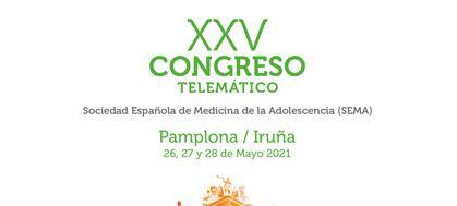 La salud en la adolescencia a debate en el XXV Congreso telemático de la Sociedad Española de Medicina de la Adolescencia (SEMA).