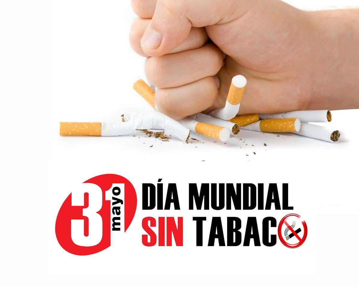 31 de mayo, Día Mundial Sin Tabaco: El tabaco multiplica el riesgo de desarrollar síntomas graves y fallecer por COVID-19 y empeora la progresión de otras enfermedades.