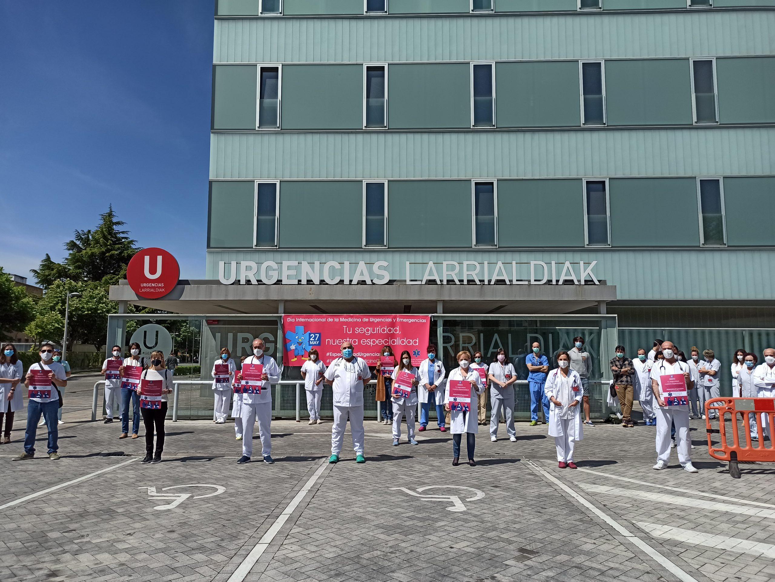 Día Mundial de la Medicina de Urgencias y Emergencias: Concentración por el reconocimiento de la especialidad.