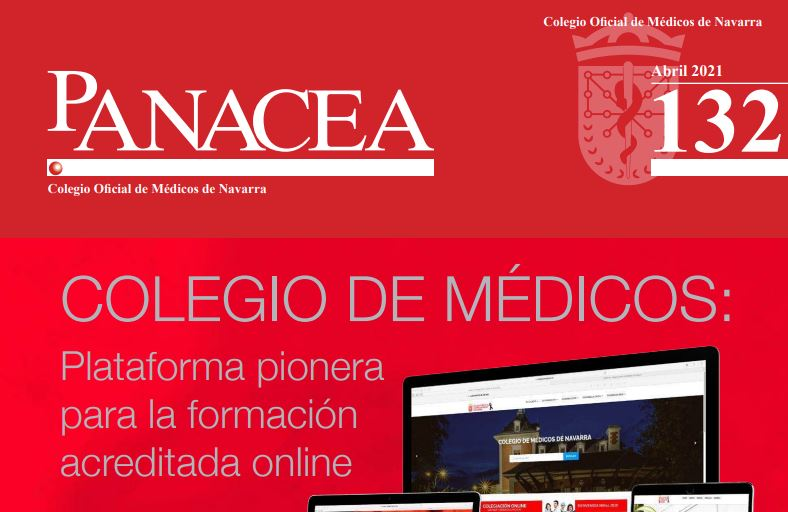 Ya puedes leer y descargar la revista Panacea 132, de abril de 2021.