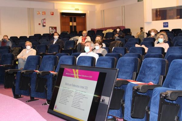 Asamblea General de Colegiados: balance de un año de pandemia.