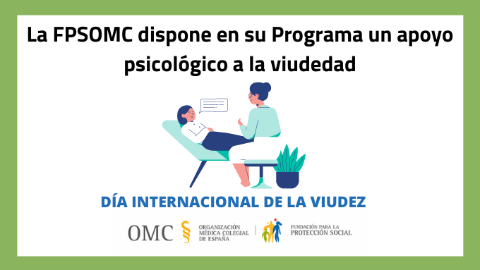 La Fundación para la Protección Social de la OMC pone en marcha un apoyo psicológico a la viudedad.