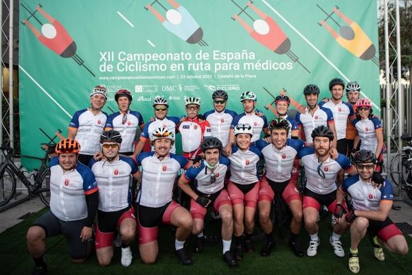 Izarbe Jiménez, tercera en el XII Campeonato de España de Ciclismo en Ruta para Médicos.